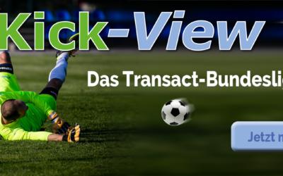 KICK-VIEW Bundesliga Saison 2019/2020 startet wieder