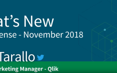 Qlik Sense – What's New November 2018