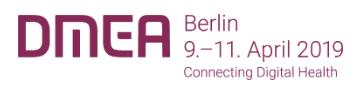 Save the Date: DMEA (ehemals Conhit) findet vom 9. bis 11. April statt und wir sind dabei