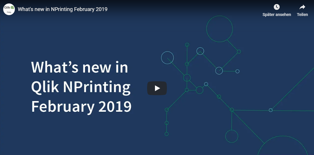 What's New in Nprinting Feb. 2019