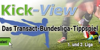 Transact-Bundesliga-Tippspiel KICK-VIEW