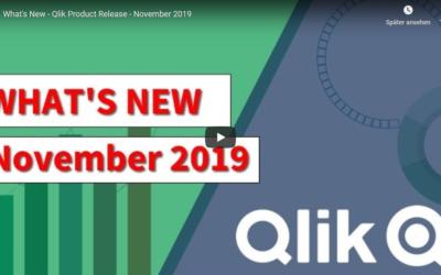 Qlik Sense – What's New November 2019