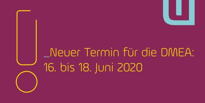+++News++DMEA 2020+++Verschoben+++
