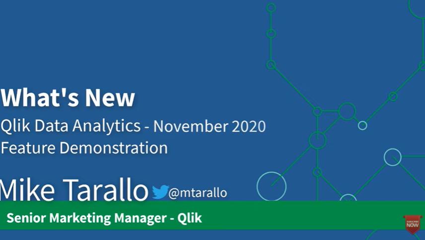 Qlik Sense – What's New November 2020